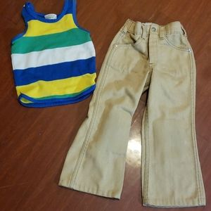 Another blast from the past! 1970's boy's pants